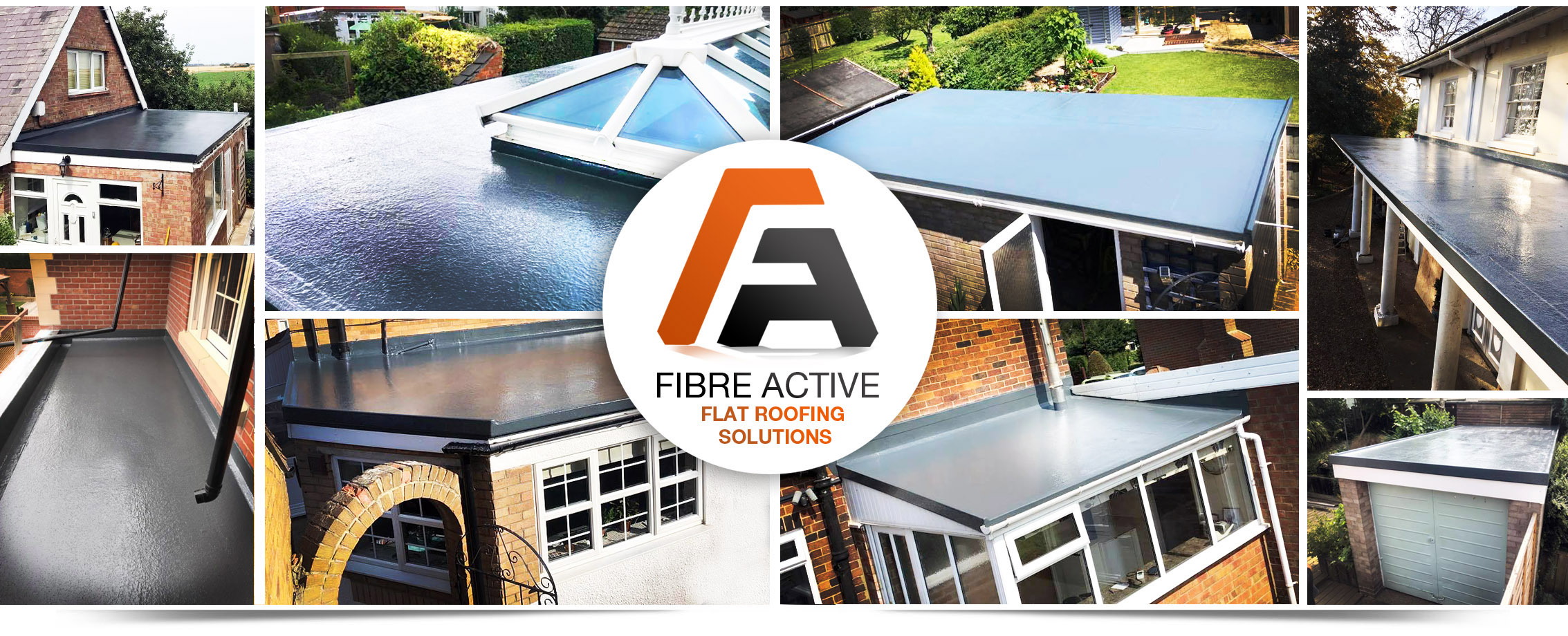Fibreglass roofing in London
